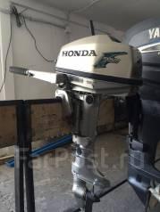 Honda. 5,00л.с., 4х тактный, бензин, нога S (381 мм), Год: 2005 год