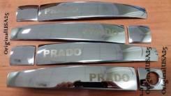 Накладка на ручки дверей. Toyota Land Cruiser Prado, GDJ150L, GDJ150W, GRJ150, GRJ150L, TRJ150, KDJ150L, GRJ150W, TRJ150W Двигатели: 1GDFTV, 1GRFE, 1K...