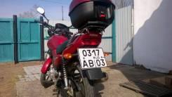 Yamaha YBR 125. 125 куб. см., исправен, птс, без пробега