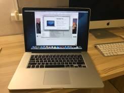 "Apple MacBook Pro 15 2012 Mid MC975 with Retina display. 15"", 2,3ГГц, ОЗУ 8192 МБ и больше, диск 256 Гб, WiFi, Bluetooth, аккумулятор на 8 ч."
