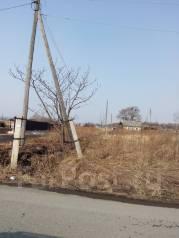 Земельный участок п. Шкотово. 1 500 кв.м., собственность, электричество, вода, от частного лица (собственник). Фото участка