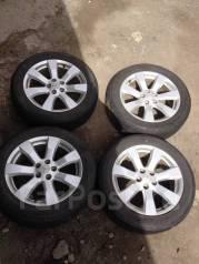 Комплект летних колес 225/55R18. 7.0x18 5x114.30 ET38 ЦО 67,0мм.
