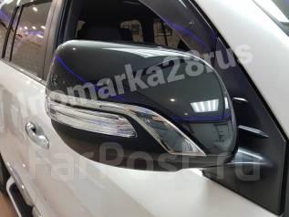 Накладка на зеркало. Toyota Land Cruiser, GRJ200, J200, URJ200, UZJ200, UZJ200W, VDJ200