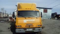 Камаз 4308. Фургон изотермический 5759-010 на шасси , 2010 год, ОТС, 6 700 куб. см., 4 700 кг.