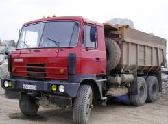 Tatra T815. Самосвал Tatra, 15 825 куб. см., 17 000 кг.