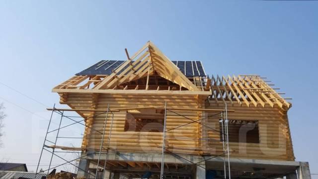 Строительство домов, бань, хоз. построек из бруса