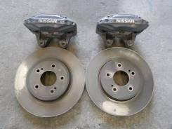 Рабочая тормозная система. Nissan Skyline, ER34 Двигатель RB25DET
