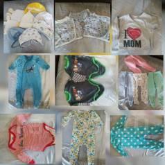 Продам вещи детские. Рост: 50-60, 60-68, 68-74 см