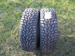 Dunlop Grandtrek Ice02. Зимние, шипованные, без износа, 2 шт