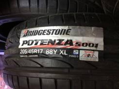 Bridgestone Potenza S001. Летние, без износа, 4 шт