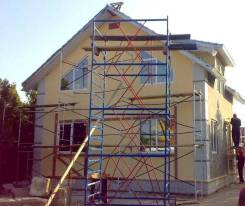 Ремонт фасадов.