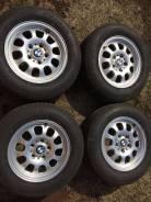 Продам комплект оригинальных колес на БМВ с летней резиной. x15