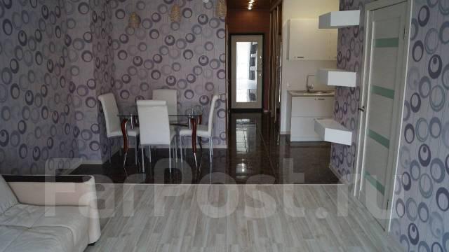 2-комнатная, улица Авраменко 2б. Эгершельд, частное лицо, 60 кв.м. Интерьер