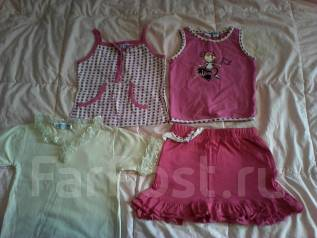 Одежда на девочку одним лотом. Рост: 74-80, 80-86, 86-98 см