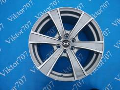 Hyundai. 8.0x18, 6x114.30, ET25, ЦО 67,1мм.