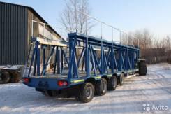 Техомs 983940-050. Кассетный панелевоз 46 тонн 4 оси от производителя, 46 000 кг.
