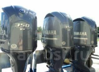 Yamaha. 350,00л.с., 4х тактный, бензин, нога X (635 мм), Год: 2016 год