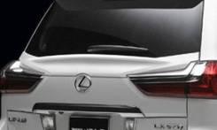 Спойлер на заднее стекло. Lexus LX570, URJ201W, URJ201 Двигатель 3URFE