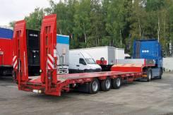 Grunwald. Низкорамный полуприцеп-тяжеловоз Gr-LSt 3 axle, 36 750 кг.