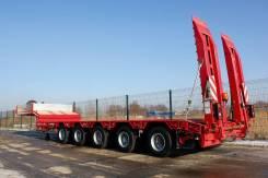 Grunwald. Низкорамный полуприцеп-тяжеловоз Gr-LSt 5 axle, 54 750 кг.