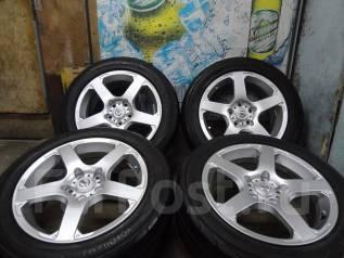 Продам Отличные Стильные колёса Nissan+Лето 215/55R17. 7.0x17 5x114.30 ET45