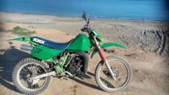 Kawasaki KMX125. 125 куб. см., исправен, птс, с пробегом