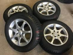 215/60R16 Bridgestone Revo2 на литье (16508R). 7.0x16 5x114.30 ET50 ЦО 72,0мм.