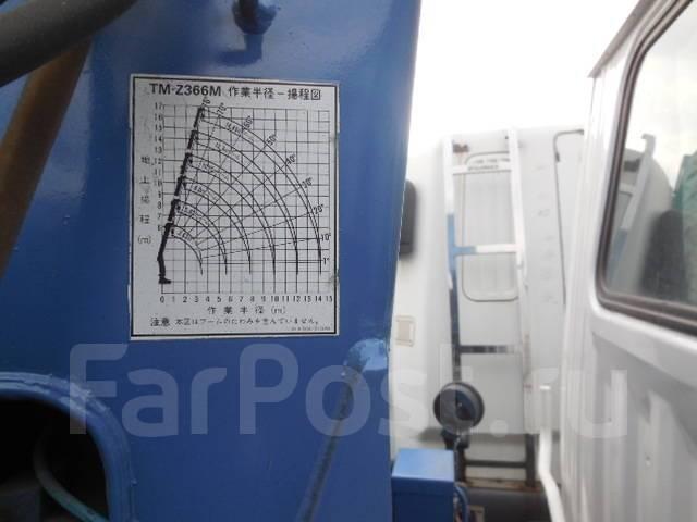 Hino Ranger. Продается грузовой 6-ти вылетный 4-х лапый манипулятор, 8 000куб. см., 6 000кг.
