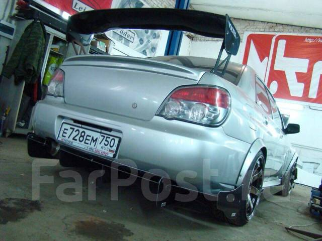 Сплиттер. Subaru Impreza WRX, GD, GD9, GDA, GDB, GE, GF8, GF8LD3, GG, GGA, GH