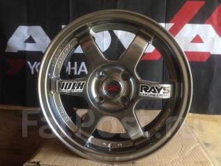 RAYS VOLK RACING. 6.5x15, 4x100.00, ET35, ЦО 73,1мм.