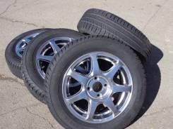 Отличный комплект колес!. 5.5x14 4x98.00 ET35