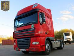 DAF XF. Тягач 105.460, Super Space Cab, 2007г, АКПП, 12 902 куб. см., 18 000 кг.