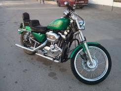 Harley-Davidson Sportster 1200 Custom XL1200C. 1 200 куб. см., исправен, птс, с пробегом. Под заказ