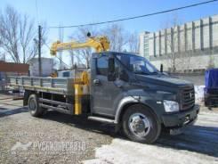 ГАЗ ГАЗон Next C41R33. КМУ Газон NEXT (C41R33)+Soosan SCS334+борт сталь 5200*2350*400мм, 4 430куб. см., 3 200кг.