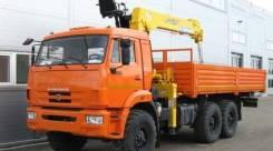 Камаз 43118 Сайгак. КМУ Камаз 43118-3027-46+Soosan SCS736LII верх. упр. +борт сталь 6.2м, 12 000 куб. см., 7 000 кг.