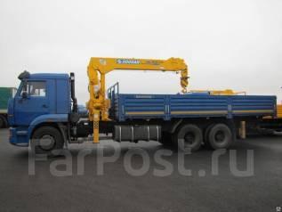 Камаз 65115. КМУ -773094-42 + Soosan SCS736LII верх. упр. + борт сталь, 6 700 куб. см., 7 000 кг.