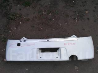 Накладка на бампер. Toyota bB, QNC20, QNC25, QNC21