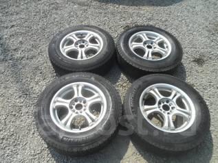 Комплект зимних колес 215/70R16 во Владивостоке. 6.0x16 5x114.30 ET50