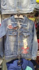 Куртки джинсовые. Рост: 116-122, 122-128, 128-134, 134-140 см