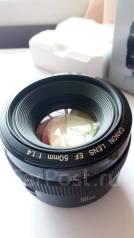 Объектив Canon EF 50mm F1.4 USM как новый. Для Canon, диаметр фильтра 58 мм