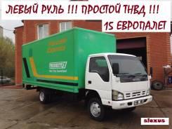 Isuzu NQR 71 P-R. Isuzu NQR 71 Фургон 2008 год! Левый РУЛЬ. Простой ТНВД в Новосибирске, 4 600 куб. см., 5 000 кг.