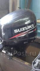 Suzuki. 25,00л.с., 4х тактный, бензин, нога L (508 мм), Год: 2012 год
