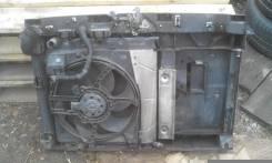 Мотор вентилятора охлаждения. Citroen C3