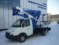 Випо-12-01. Автогидроподъемник ВИПО-12-01 на шасси ГАЗ-3302, 100 куб. см., 12 м.