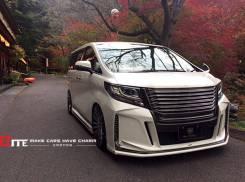 Обвес кузова аэродинамический. Toyota Alphard, GGH30W. Под заказ