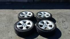 Продам оригинальные BMW диски на летней резине. 8.0x18 5x120.60 ET14 ЦО 72,5мм.