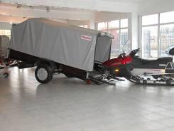 Курганские прицепы. Г/п: 750 кг., масса: 470,00кг.