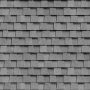 Рядовая черепица Шинглас Ранчо, Серый, 1000*335 мм, 2 м2