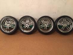 Продам комплект колес Zenetti на 20 с летней резиной. 8.5x20 5x114.30 ET40 ЦО 73,0мм.