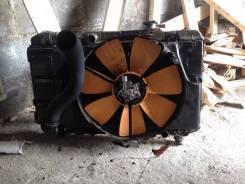 Радиатор охлаждения двигателя. Toyota Camry, SV30 Двигатель 2CT